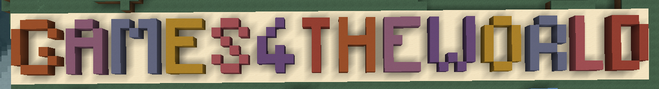 Banner from Games4theworld Minecraft server