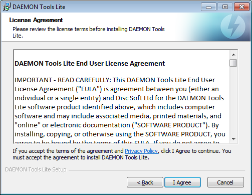How to prevent crapware: the license agreement